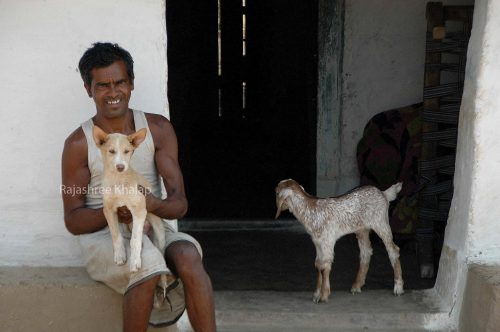 In a small Gond village in Seoni district, Madhya Pradesh, Central India